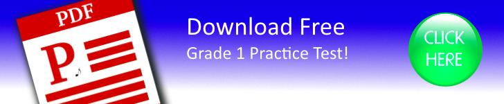Grade 1 Practice Tests Free