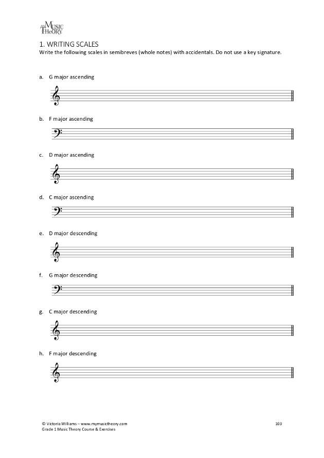 {Music Theory Printable Worksheets Details – Music Theory Worksheets Pdf