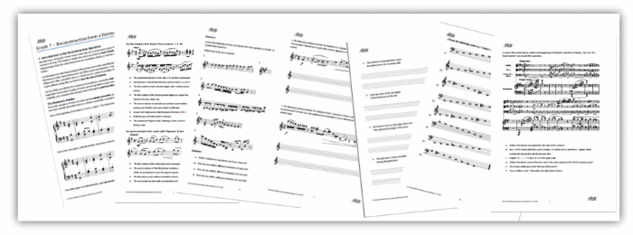 Music Theory Printable Worksheets Details