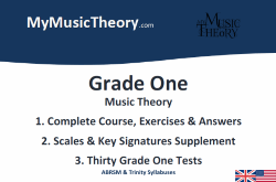 Grade 1 music theory course pdf