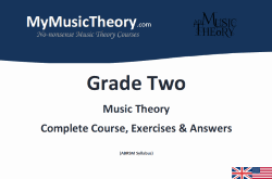 Grade 2 music theory course pdf download
