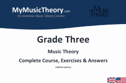 Grade 3 music theory course pdf download