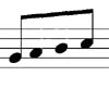 Join the first and last stems - music theory