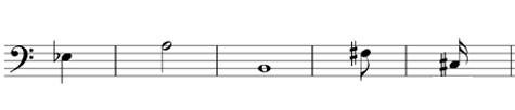 Give the note and time name of these notes - grade 1 music theory