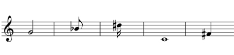 Give the note name and time name of these notes - grade 1 music theory