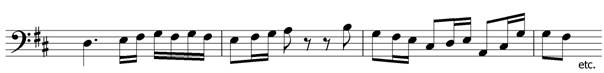 add the time signature to this melody