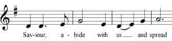 Notating more than one note to one syllable