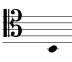 First note of the section