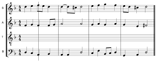 9  SATB Writing for Voices