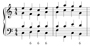 voice leading figured bass