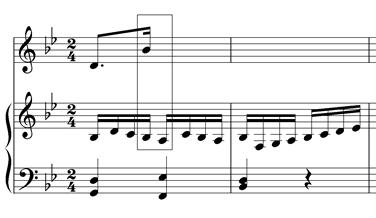 consecutive octaves composition