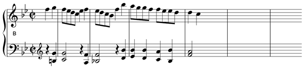 harmonic outline bars 1 4