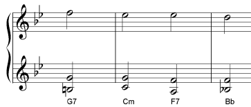 harmonic outline chords