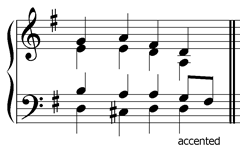 accented-passing-note