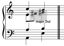 major-secon-passing-note