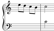 accented passing note possibility